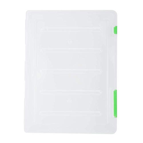 Z-SEAT A4 Fichier Papier Transparent en Plastique Litre Bureau Boîte De Rangement Document Papier Protecteur De Stockage Collections Conteneur