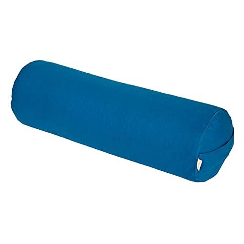 Bolster Yoga/Pilates/Rotolo Yoga Basic, Blu