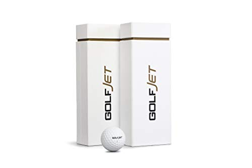 GolfJet JET3 Twin Pack | 24 x Premium JET3 Golf Balls. 3-Layer Power Core, Supersoft 338 Dimple Hex Aero Urethane Cover. Longer Flatter Drives, More Game Spin, Optimum Feel for Ultimate Control.