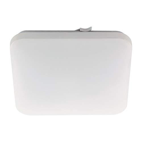 Eglo Frankia - Plafoniera in acciaio, 17,3 W, colore: bianco