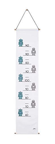 Jollein Diagramme de Croissance Robot Sarcelle 70-140 cm 1 Unité