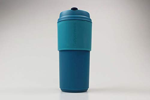 Tupperware to Go Becher 490 ml türkis-blau Thermobecher Kaffeebecher