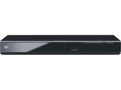 Panasonic Progressive Scan DVD Player DVD-S500 (Black) Detailed Video/Audio from Most DVD/CD Formats, View Content From USB