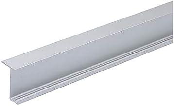 Loopprofiel voor montage voor de bovenbodem, 6000, aluminium