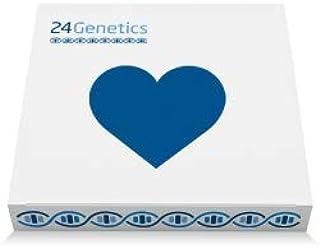 24Genetics - Test de ADN de Salud - Prueba genética de prevención de enfermedades y medicina personalizada - Incluye kit d...