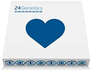 24Genetics - DNA Health Test - 200+ PDF Report - Biomarkers - Traits - Includes at-Home Swab Collection kit