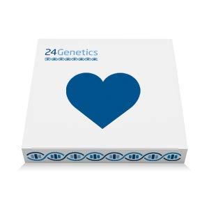 24Genetics - DNA-Gesundheitstest - 250+ PDF-Berichte - Pharma - Biomarker - Eigenschaften - Beinhaltet einen Tupfer-Sammelsatz zu Hause - Bericht in deutscher Sprache verfügbar