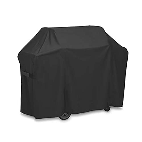 HTLLT Barbecue Cover, Gas Grill Cover, 420d Oxford Cloth, Uv Resistant and Tear Resistant, Suitable for Outdoor Courtyard Camping Barbecue Grill Protective Cover,105 * 49 * 102cm