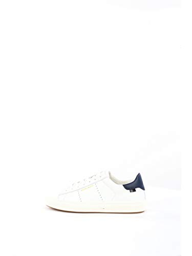 Woolrich - Zapatillas deportivas bicolor blanco/azul para hombre 8