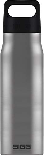 SIGG Explorer Brushed Botella metálica (1 L), cantimplora hermética sin sustancias nocivas, resistente botella de acero inoxidable que no altera los olores
