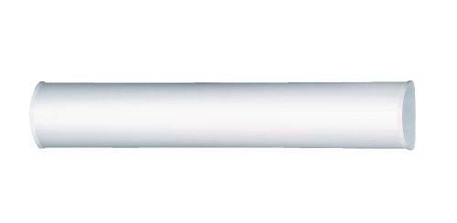 Steinel BRS 60 L Sensor badkamerlamp met 360° hoogfrequente bewegingsmelder, sensorlamp van aluminium en opaalglas, design-binnenlamp ideaal voor badkamer en toilet, energiezuinig, wandmontage, 740155