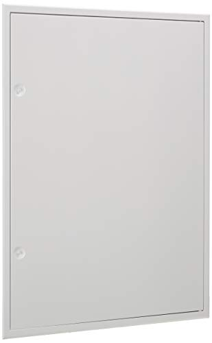 Upmann Softline Trappe daccès Z de profil Primus blanc 600x 800mm avec carré, 1pièce, 22166