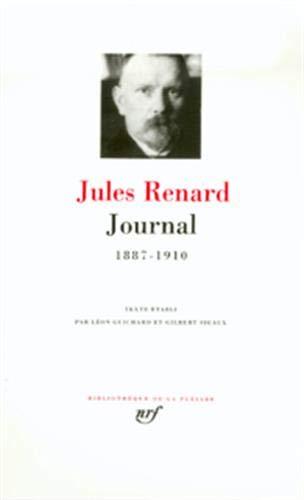 Renard : Journal 1887-1910
