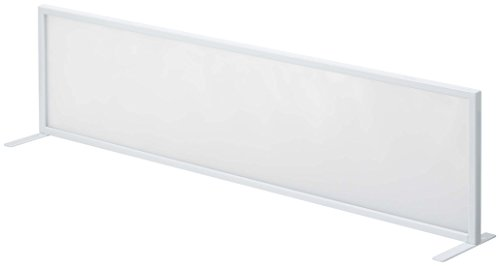 山崎実業 シンク水はね防止スクリーン ホワイト 約W90×D14×H24cm タワー 水はねガード キッチン シンク 3496