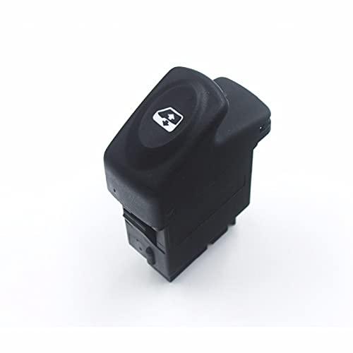 para Renault Clio Renault Clio I Renault Kangoo Megane 1990-2016, botón de Control del Interruptor de la Ventana eléctrica 7700436524 7700307605