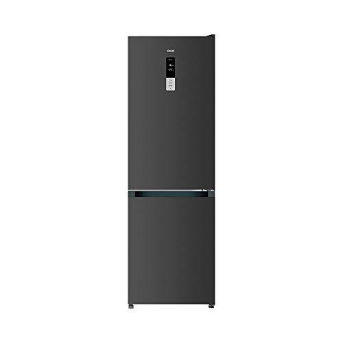 CHiQ FBM317NEI32 Freistehender Kühlschrank mit Gefrierfach 317L   Kühl-Gefrierkombination No frost mit Inverter Technologie  185 x 59,5 x 64,2 cm (HxBxT)   Ultraleise 39 db   240 kWh/ Jahr