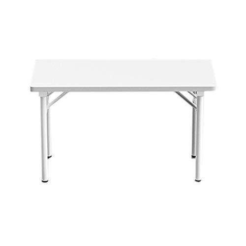 Ahorre espacio Escritorio para casas de 31 pulgadas, escritorio de computadora plegable y escritorio de estudio, se puede llevar sin instalar una mesa cuadrada, adecuada para varias ocasiones, como do