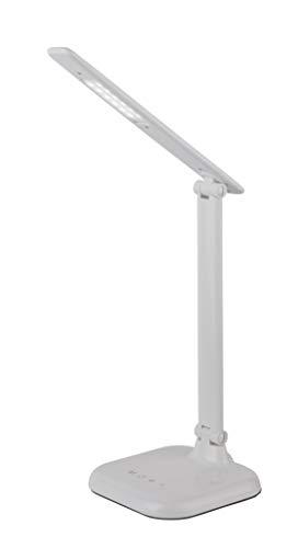 LED Tischleuchte DAVOS Touchdimmer mit Adapter 7 Watt weiß CCT 1x LED á 7W inkl.