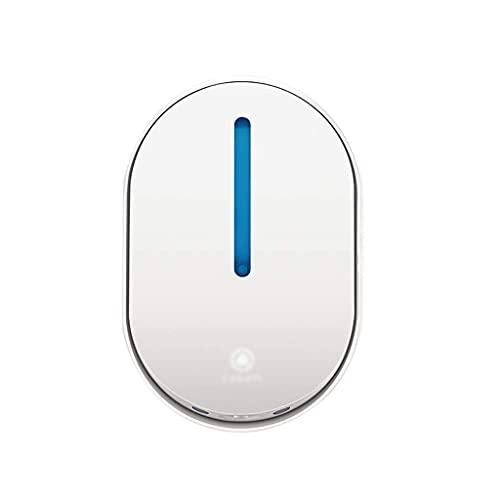 Reusable Automatic Sensor Soap Dispenser Foam Soap Dispenser Children's Household Wall-mounted Soap Dispenser 250ml/8.4oz (Color : White)