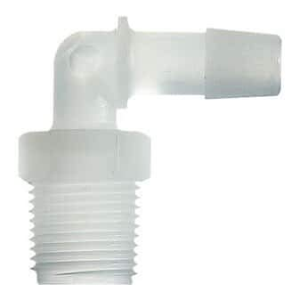 Cole-Parmer Pipe Adapter High quality new Elbow Polyethylene Pa x 4