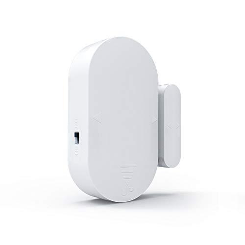 RR-YRL Tür- und Fenstersensoren, 130 Db drahtloser akustischer Alarm, Magnetsensor für Haupteingang Anti-Diebstahl-Alarmanlage, Home Security System Device