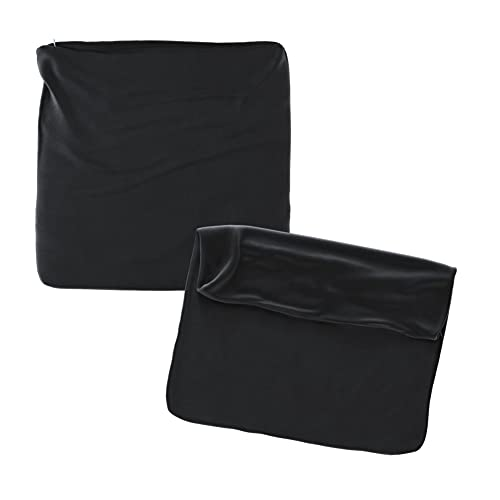Cojines Sofa 45x45 Color Negro Pack de 2 Fundas de cojin Decorativos para Sofa , Cama , Salon / Funda de Terciopelo Elegantes y Modernas para la decoración del hogar sin Relleno