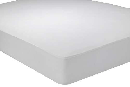 Pikolin Home - Protector de colchón punto antiácaros, transpirable. 150x190/200cm-Cama de 150. (Todas las medidas)