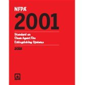 NFPA 2001: Standard on Clean Agent Fire Extinguishing Systems 2018 ed.