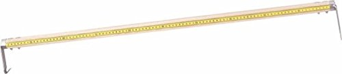 Triuso Reißmeter 100cm- Dezimeter- teilung-Spitze u.festem Reißer anreißmessschieber reissmass anreißgerät anreißer ablängmeßstab reißmaß ablängstab
