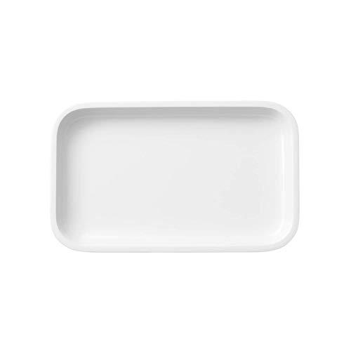 Villeroy & Boch Servierplatte, Porzellan, Weiß, 26 x 16 x 4 cm