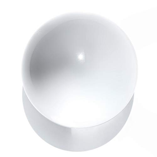 Crystal Ball, 80mm Transparent Sphere K9 High Purity Photography Crystal Lens Ball Photo Shooting Tool Accessory