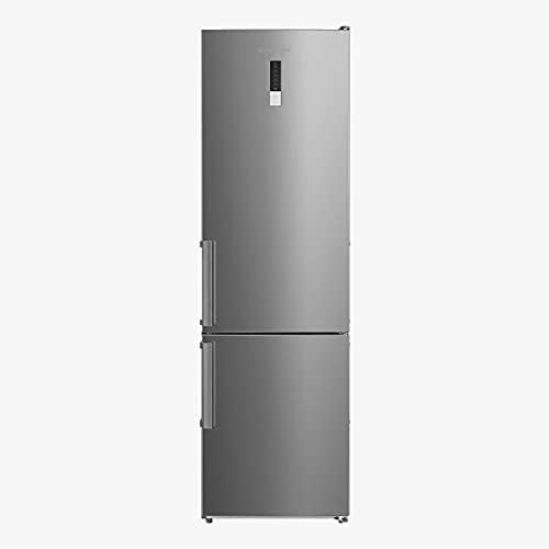 EAS ELECTRIC SMART TECHNOLOGY | EMC1880SX1 | Frigorífico Combi | 188x60 cm E/A++ Inox | Dos cajones | Pantalla LED en puerta | Refrigerador 224 litros Congelador 86 litros | Modo Enfriamiento Rápido
