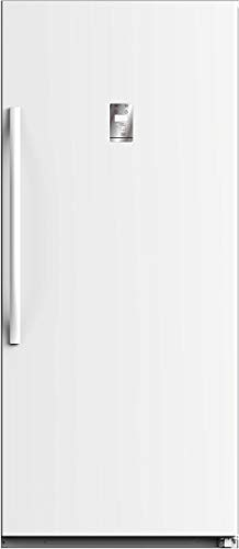 """WHS772FWEW1 33"""" Freestanding Upright Freezer with 21 cu. ft. Capacity, White Door, Right Hinge, Automatic Defrost, Energy Star Certified in White"""