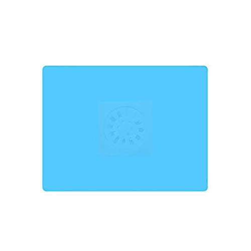 LPOQW - Protector de drenaje de silicona para fregadero, protector para ducha, ducha, baño, accesorios de baño, color azul