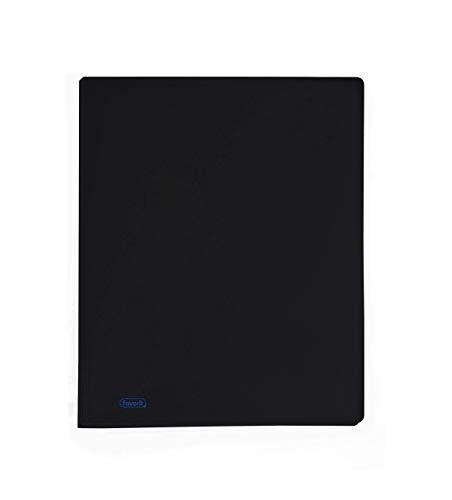 Favorit 100460260 - Portalistino, Formato Interno 22 x 30 cm, 30 Buste, Nero