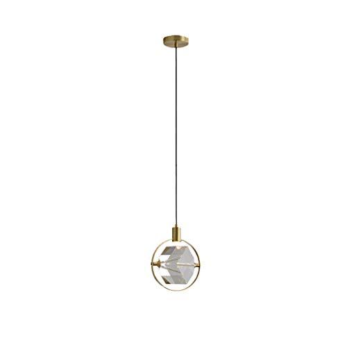 caihuashopping Moderno Lámparas de araña Lujo Lámparas de Luz Creativa Moderna Lámparas Dormitorio Comedor Lámparas de Cobre Crystal Bar Los Iluminación Colgante