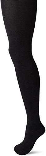 Melton Damen Basic Strumpfhose, Grau (Dark Grey Melange 180), 39/40 (Herstellergröße: 13-14y)