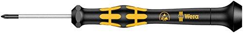 Wera 05030118001 1550 Kraftform Micro kruiskopschroevendraaier, PH 00 x 40 mm