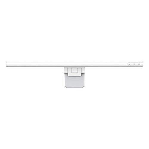 JKMQA LED Lámparas de Escritorio,Luz del Monitor E-Reading,Control Táctil,Regulable Continuamente,3 Temperatura del Color,Atenuación Automática,Ni Parpadeo en la Pantalla,Blanco,Negro