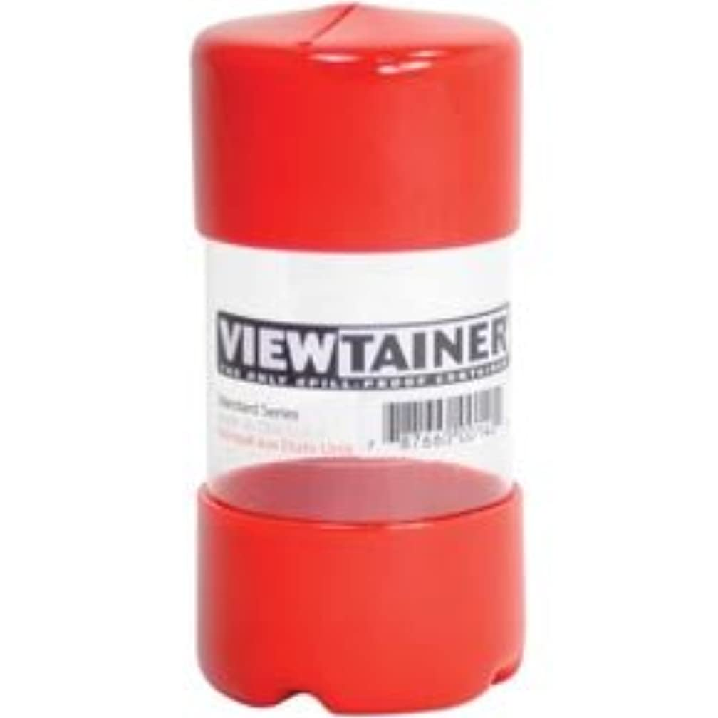 Bulk Buy: Viewtainer (6-Pack) Storage Container 2in. x 4in. Red CC24-1