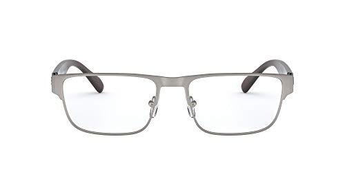 AX Armani Exchange Ax1041 - Gafas rectangulares para hombre, Lente mate de plomo/Demo., 56 mm