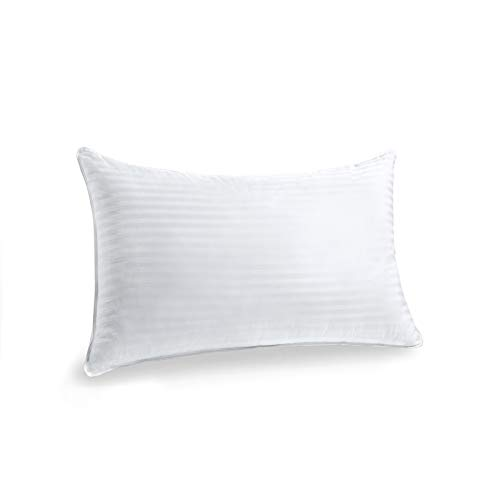 Yalamila Bed Pillow for Sleeping,King Size Pillow Set of 1 Pillow,Luxury Down Alternative Pillow 100% Breathable Cotton Cover Skin-Friendly,Bed Pillows for Back Stomach and Side Sleepers