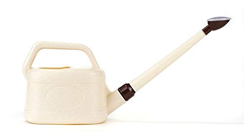 Bonsai Pavia | Regadera para Bonsais de Plástico | Pequeña con Efecto Lluvia Fina y con Capacidad de 3 litros | Ligera y Válida para Reglar Otras Plantas del Jardín