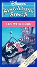 Disney's Sing Along Songs: Fun With Music VHS