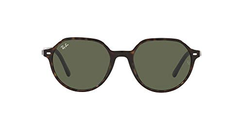 Ray-Ban 0RB2195-902/31-55 Gafas, Havana, 55 para Hombre