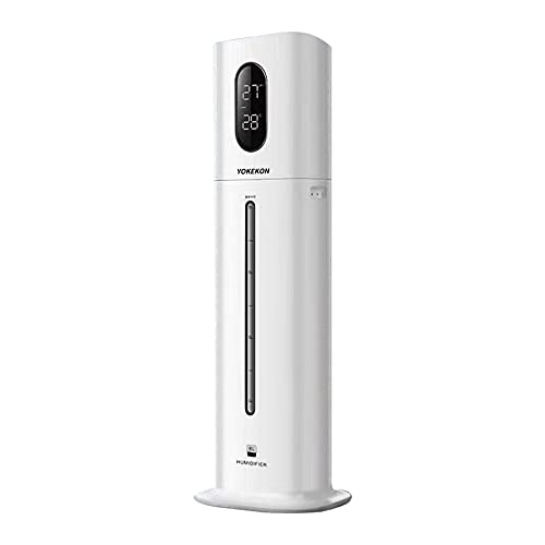 Cool Mist Humidifier for Home/Bedroom/Large Room/Baby Room/Plants, 8L Large...