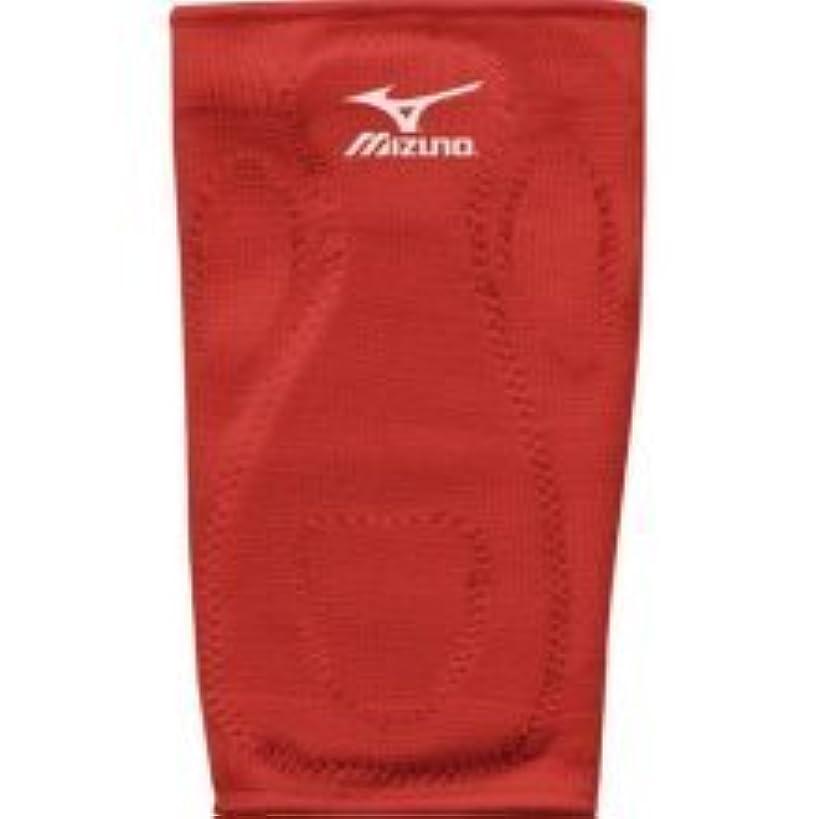 Red Adult, Mizuno Baseball/Softball Slider Kneepad Maxiumum Knee Protection from Slide Abrasion/Bruises