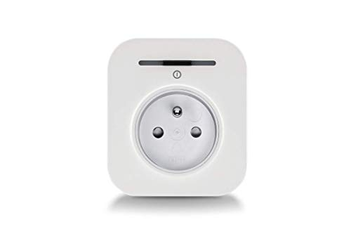 Bosch Prise intelligente connectée Smart Home (Livrée sans contrôleur Smart Home, Wifi, programmable pour gérer votre consommation - compatible avec Amazon Alexa et Assistant Google)