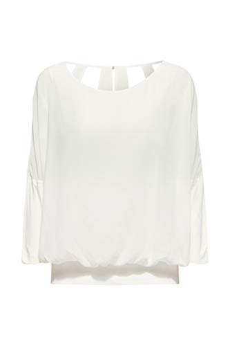 ESPRIT Bluzka damska, biały (Off White 110), S