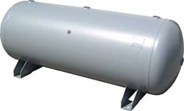 Manchester Tank Horizontal Air Receiver 200 Gallon 200 PSI w/ Legs Only
